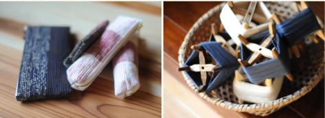 ぼろ織り製品 写真